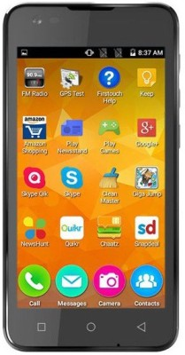Micromax Canvas Blaze 4G Q400 8GB Black Mobile