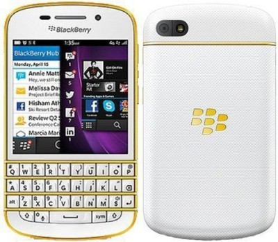 Blackberry Q10 Special Edition (White, 16 GB)(2 GB RAM)