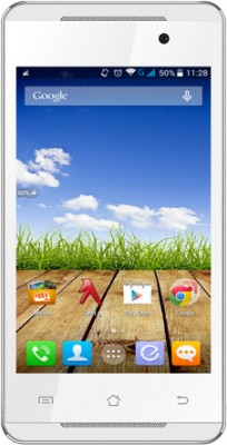 Micromax Canvas Fire A093 (White and Gold, 4 GB)(512 MB RAM)
