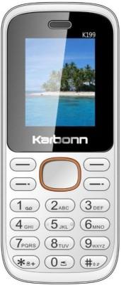 Karbonn K199(White & Orange) 1