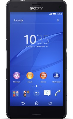 Sony Xperia Z3 Compact (Black, 16 GB)(2 GB RAM) at flipkart