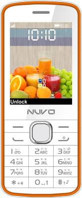 Nuvo Flash (White, Orange)