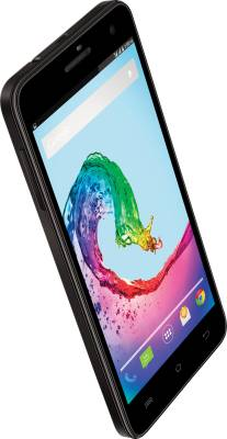 Lava iris X5 With Flip Cover (Black, 8 GB)