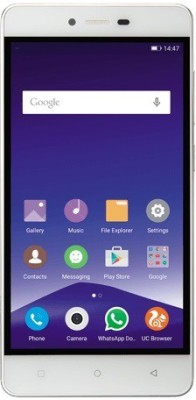 Gionee F103 3GB RAM Version (White, 16 GB)(3 GB RAM) at flipkart