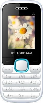 Usha Shriram A2 (White and Blue)