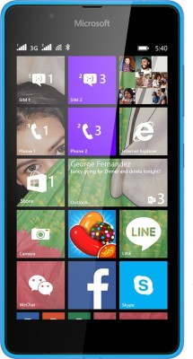 Microsoft Lumia 540 (Cyan, 8 GB)(1 GB RAM)