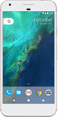 Google Pixel XL (Very Silver, 128 GB)
