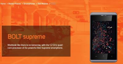 Micromax Supreme (Grey, 4 GB)