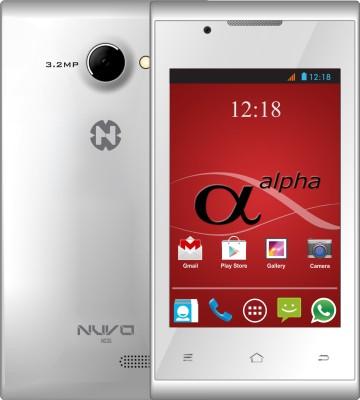 nuvo Alpha NS35 4GB (White, 4 GB)(512 MB RAM)