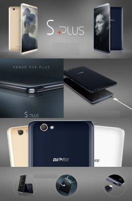 Gionee S Plus (Gold, 16 GB)