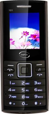 Infix Origin IFX 101 Ultra Dual Sim Multimedia(Black, White)