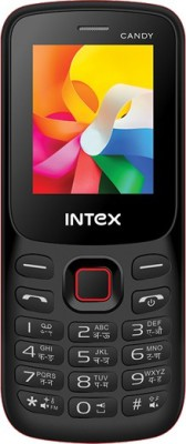Intex Candy Bar(Black)  available at flipkart for Rs.699