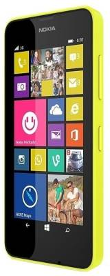 Nokia Lumia 630 Dual Sim (Bright Yellow, 8 GB)