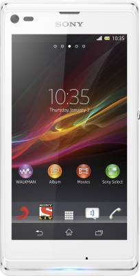 Sony Xperia L (Diamond White, 8 GB)