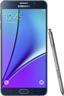 Samsung Galaxy Note 5 (Dual Sim) (Black Sapphire, 32 GB)(4 GB RAM)