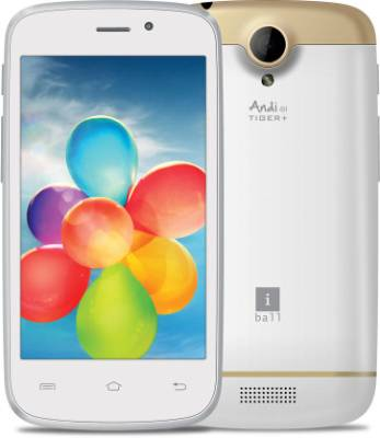 iBall Andi 4H Tiger Plus (White, 4 GB)