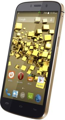 Micromax Canvas Gold A300 (Black Gold, 26 GB)