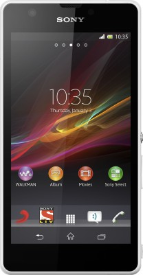Sony Xperia ZR (White, 8 GB)(2 GB RAM)