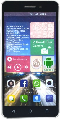 Camerii CM50Maroon-Ginger Android (Maroon, 256 MB)(1 GB RAM)