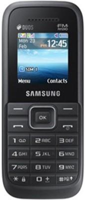 Samsung Guru FM Plus SM-B110E/D Black Mobile