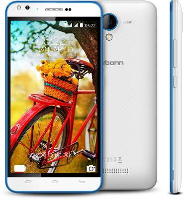 Karbonn Titanium MachFive (White & Blue, 16 GB)