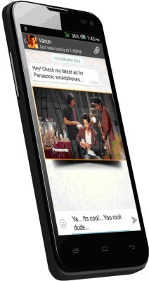 Panasonic T41 (Black, 4 GB)(512 MB RAM) at flipkart
