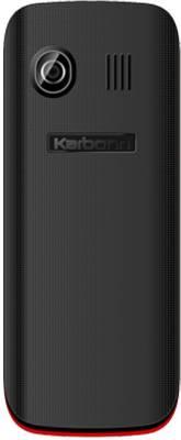 Karbonn K2S Dual Sim - Black & Red (Black)