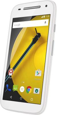 Moto E (2nd Gen) 3G (White, 8 GB)
