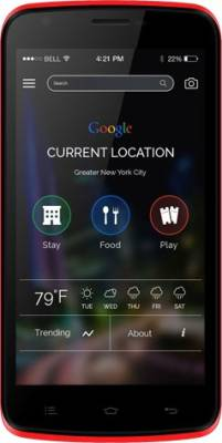 Celkon Q519 Plus (Red, 8 GB)