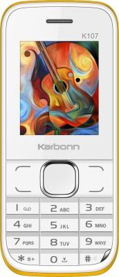Karbonn K107(White & Yellow) 1