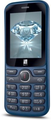 Iball 2.4K Jewel(Black & Blue)