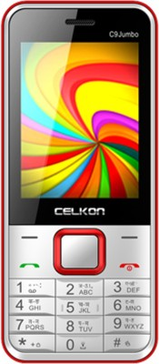 Celkon C9 Jumbo(White & Red) 1