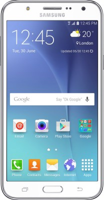 Samsung Galaxy J7 (White, 16 GB)(1.5 GB RAM) at flipkart