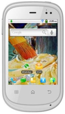 Micromax Superfone Punk A44 (White, 140 MB)(256 MB RAM) 1