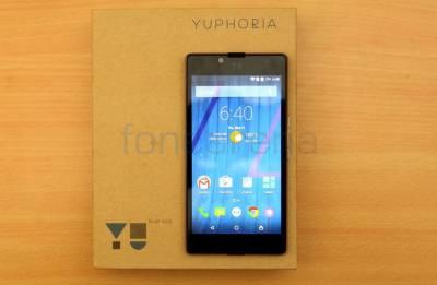 YU YUPHORIA (BLACK SILVER, 16 GB)