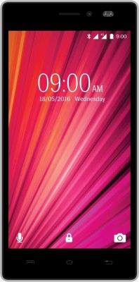 Lava X17 4G with VoLTE (Black & Steel, 8 GB)(1 GB RAM)