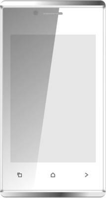 Karbonn A202 Dual Sim - White & Silver (White, 512 MB)
