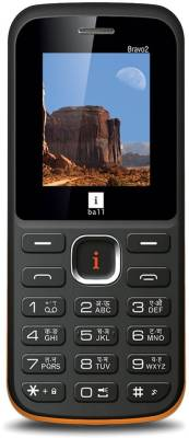 iBall Bravo2 1.8L Dual Sim (Black, Orange)