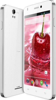 Lava Iris X1 Grand With Flip Cover (White and Silver, 8 GB)(1 GB RAM) 1