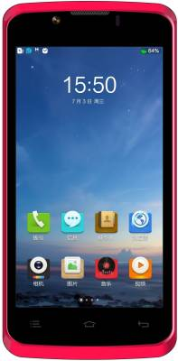 ZOPO ZP590 (Red & Silver, 4 GB)
