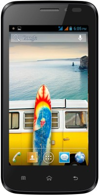 Micromax Bolt A66 (Black, 165 MB)(512 MB RAM) at flipkart