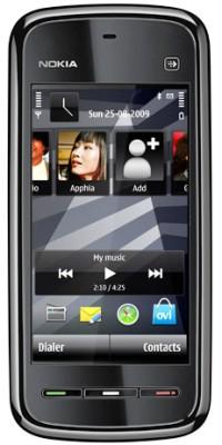Nokia 5233 (Black, 50 MB)(128 MB RAM)