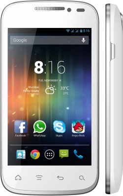 XCCESS Pulse (White, 4 GB)(512 MB RAM)