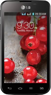 LG Optimus L5 II Dual E455 (Black, 4 GB)