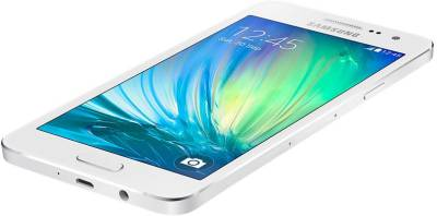 Samsung Galaxy A3 (Pearl White, 16 GB)