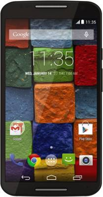 Moto X (2nd Generation) (Black, 16 GB)