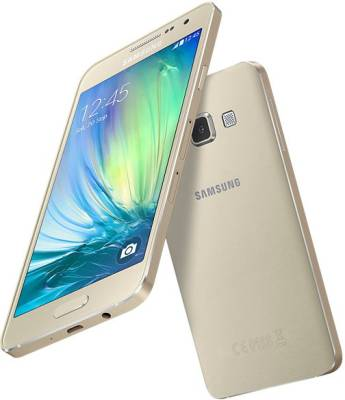 Samsung Galaxy A3 (Champagne Gold, 16 GB)
