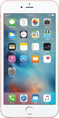 Apple iPhone 6s Plus 128GB Rose Gold Mobile, MKUG2HN/A