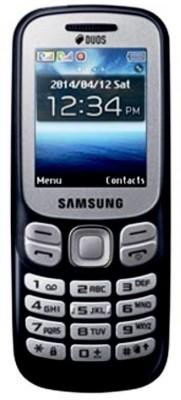 Samsung Metro 313 (Samsung SM-B313EZKDINS) Black Mobile