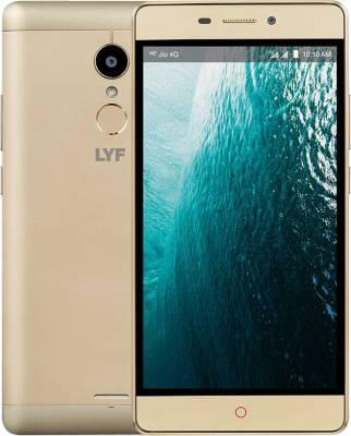 LYF Water 7 (Gold, 16 GB)